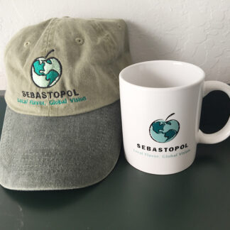 hat and cup