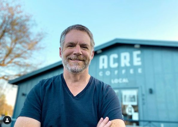 Rob Daly of Acre Coffee