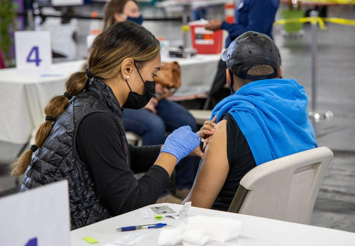vaccination clinic for farmworkers